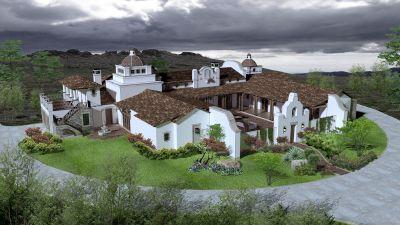 Spanish/Hacienda Style